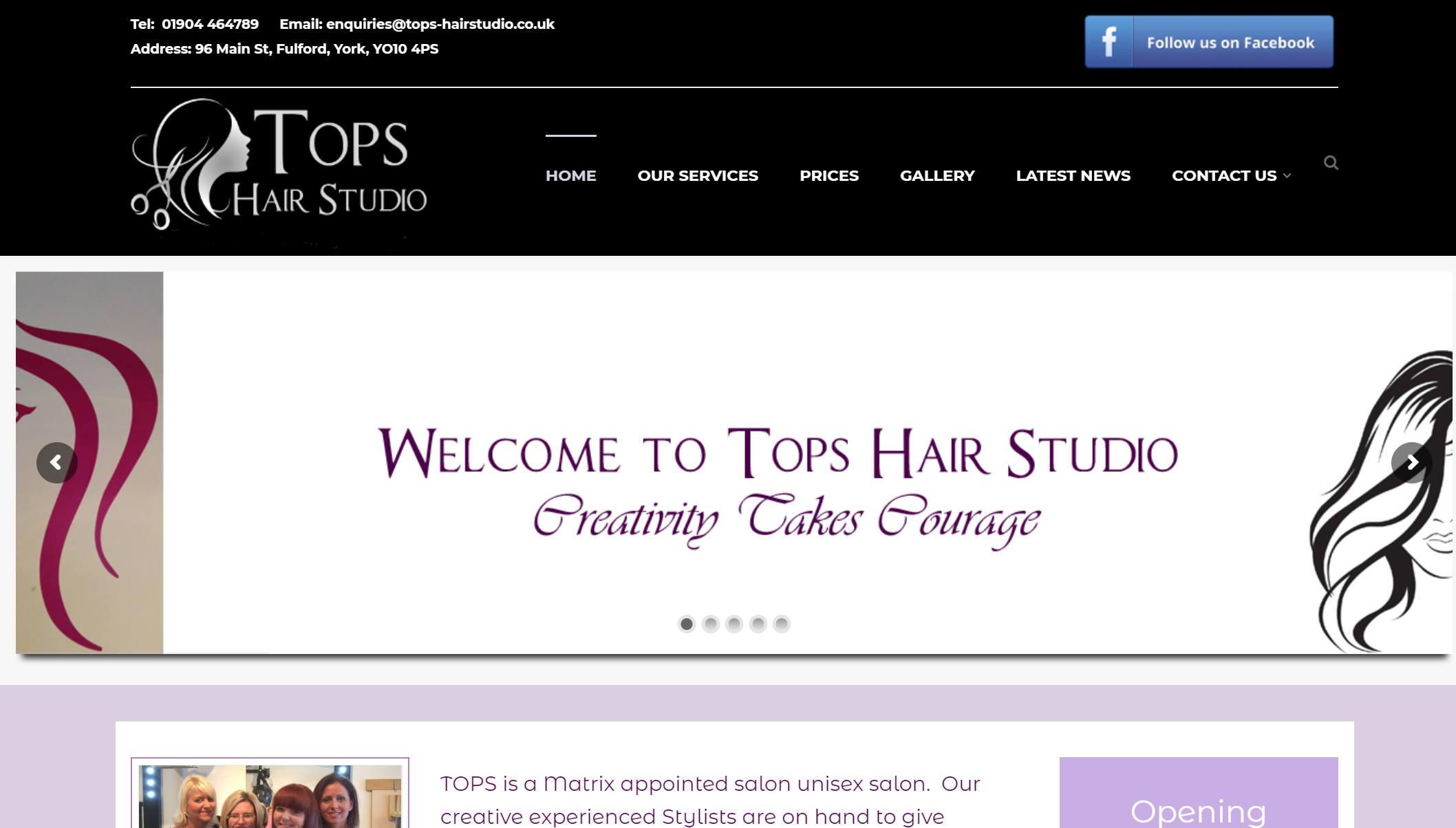 Tops Hair Studio