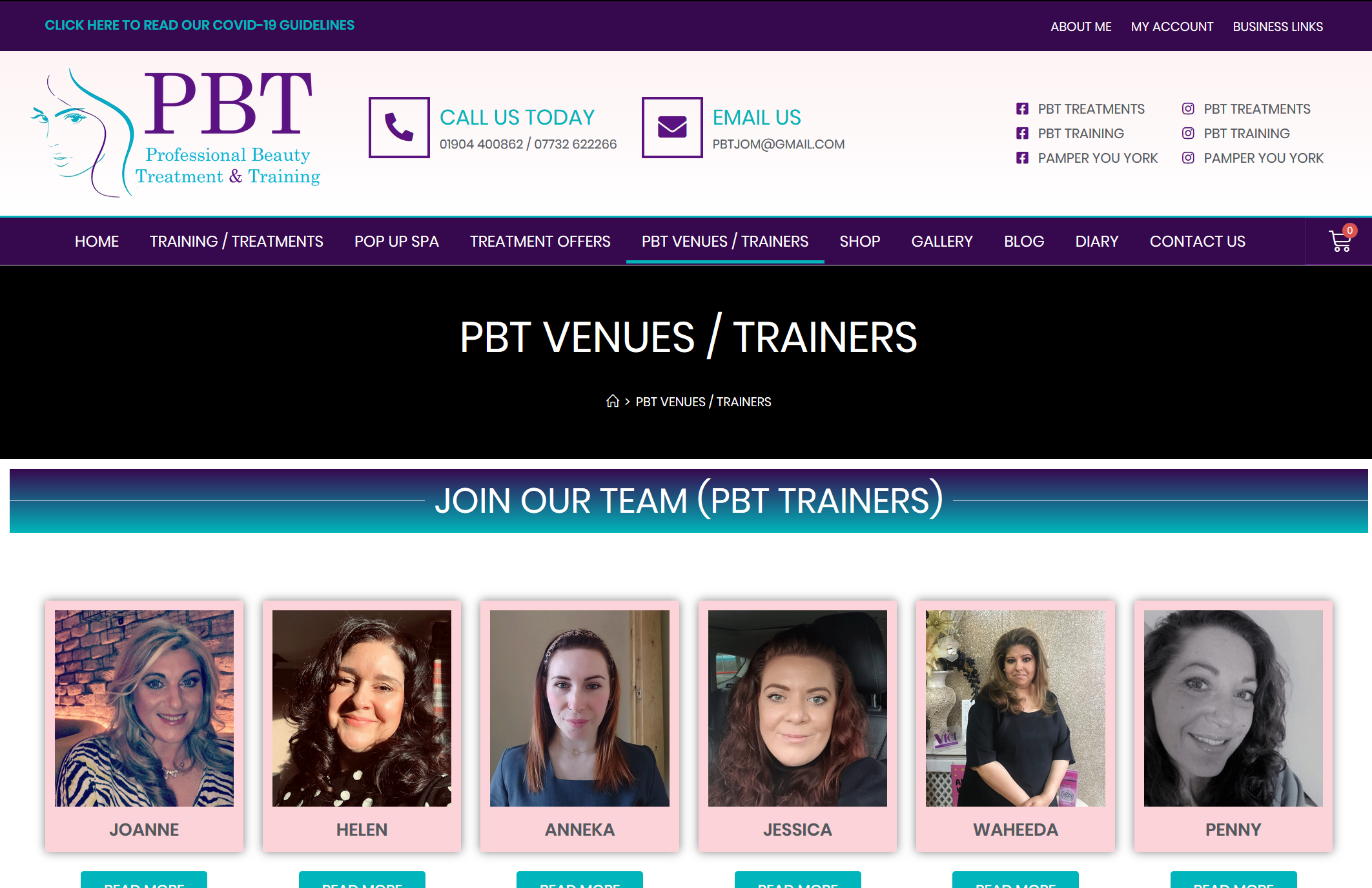 PBT TRAINERS