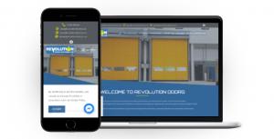Website Launch –  Revolution Doors
