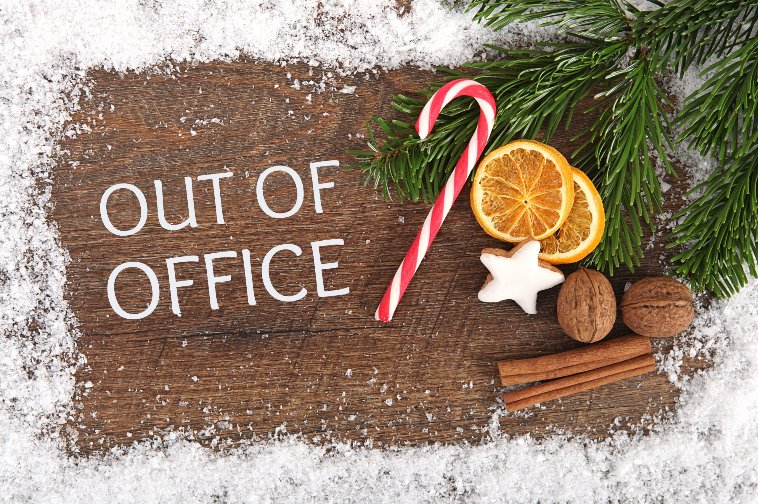 Merry Christmas – Out of Office