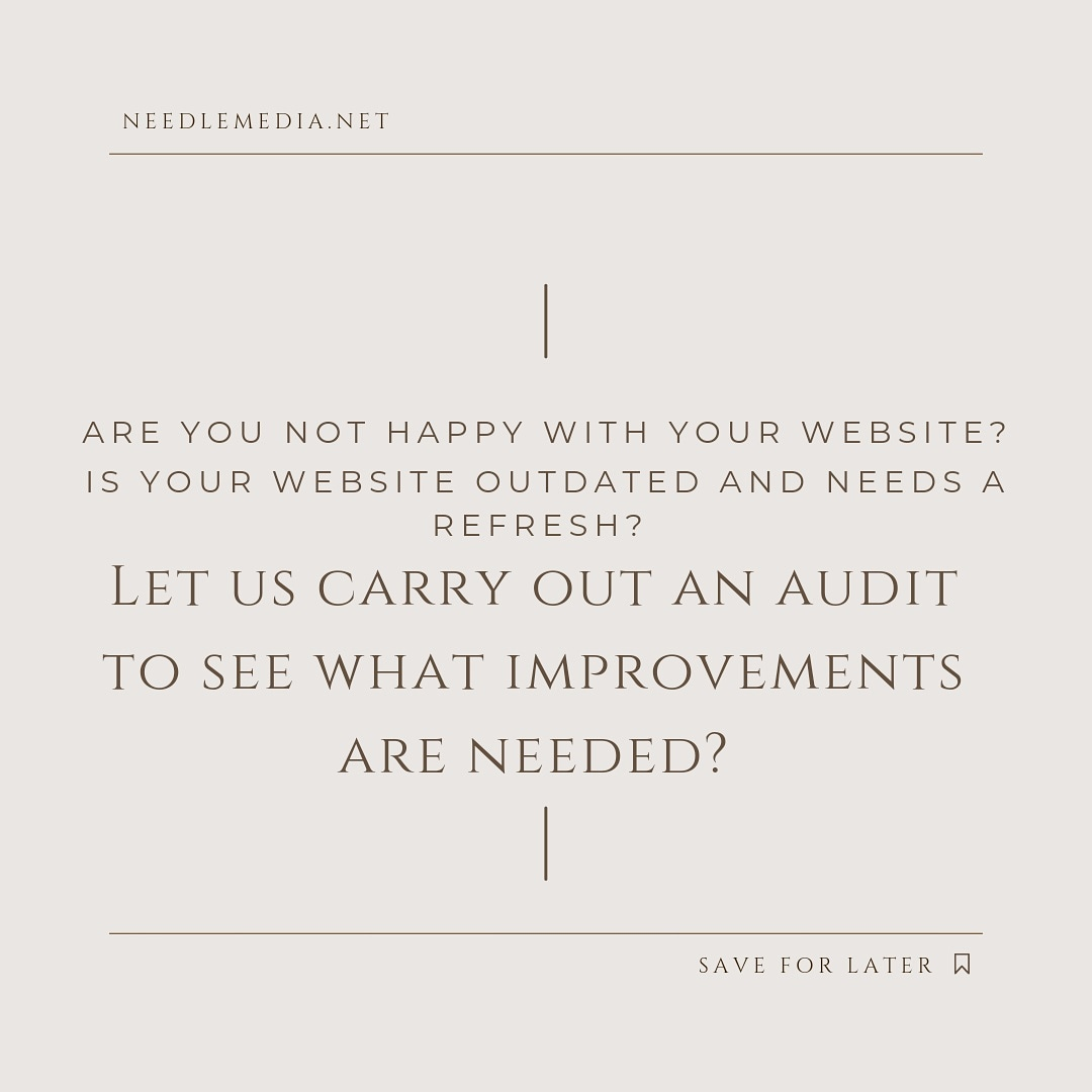 Need a Chat about your business website?