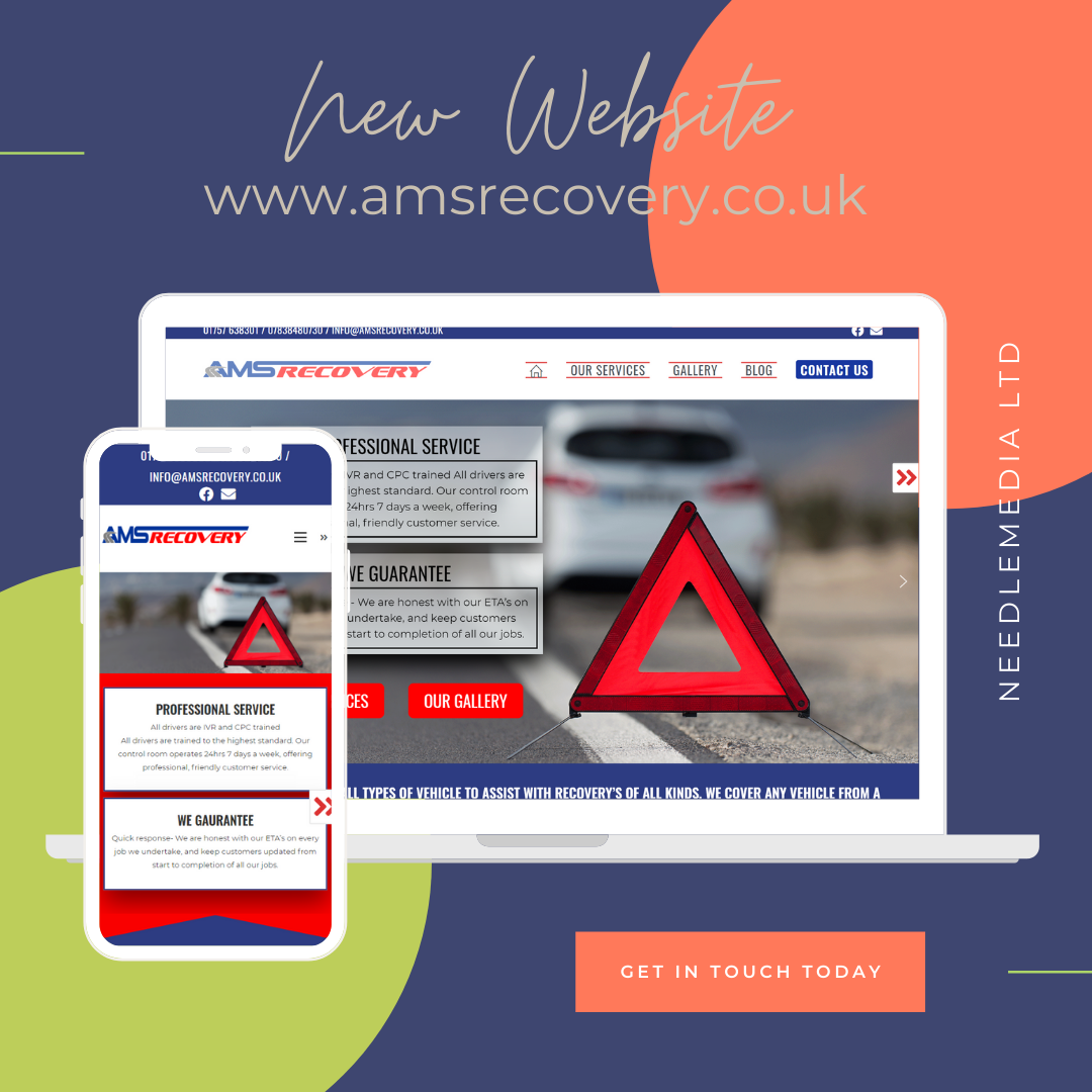 Website Launch – AMS Recovery