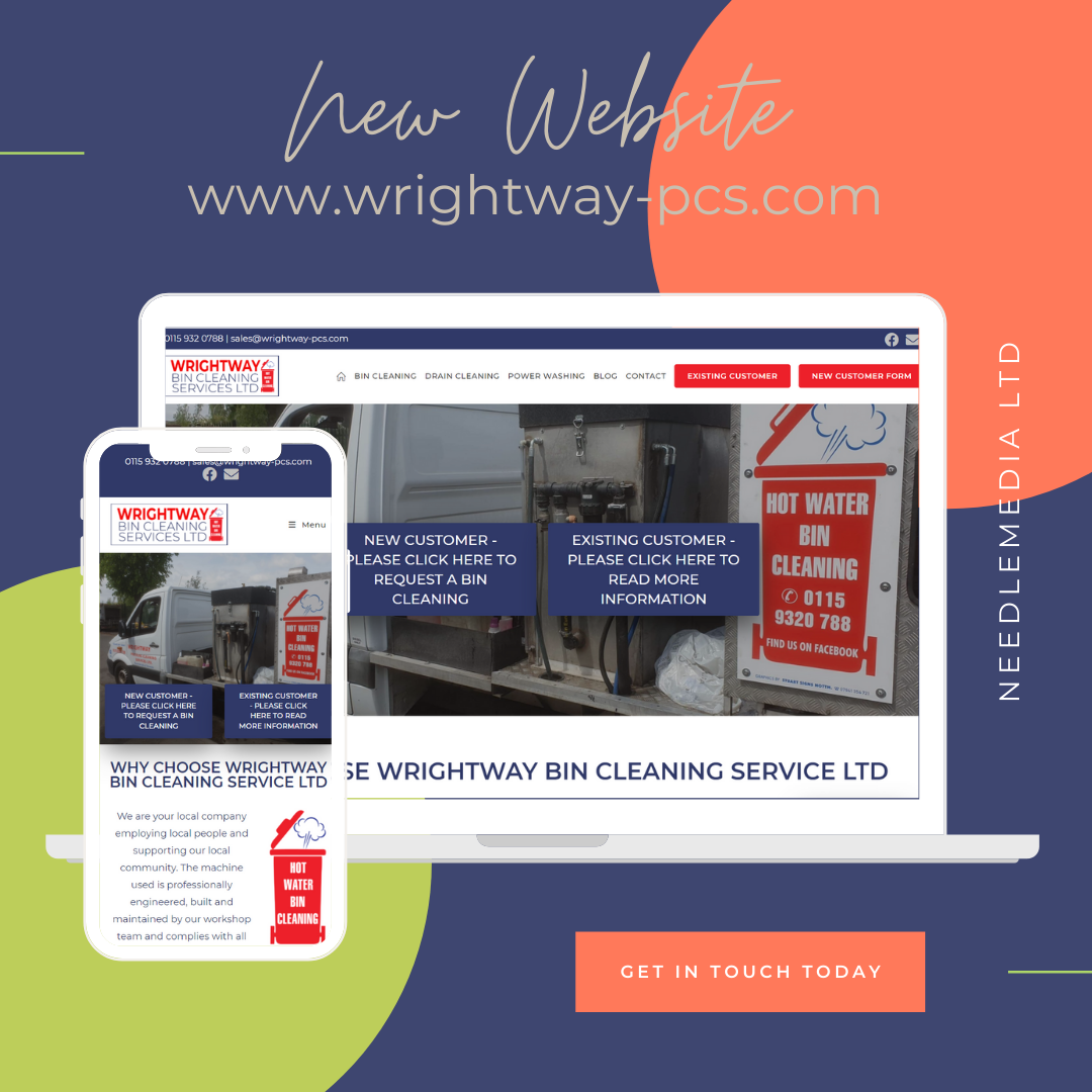 New Website Launch – Wrightway Bin Cleaning Services