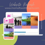 Website Refresh – Mom of Two Little Girls
