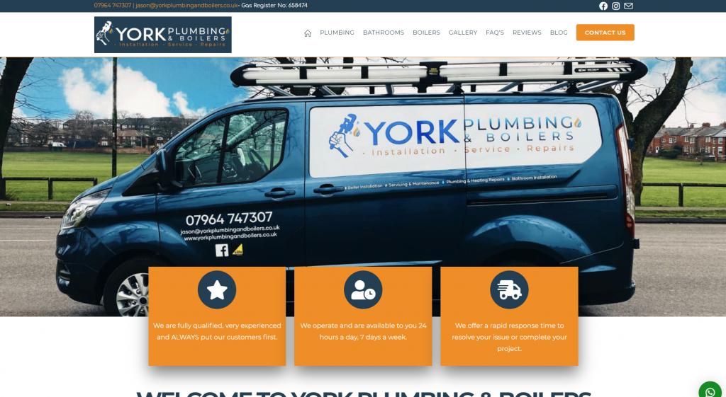York Plumbing and Boilers
