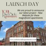 Website Launch – York Riverside Apartments