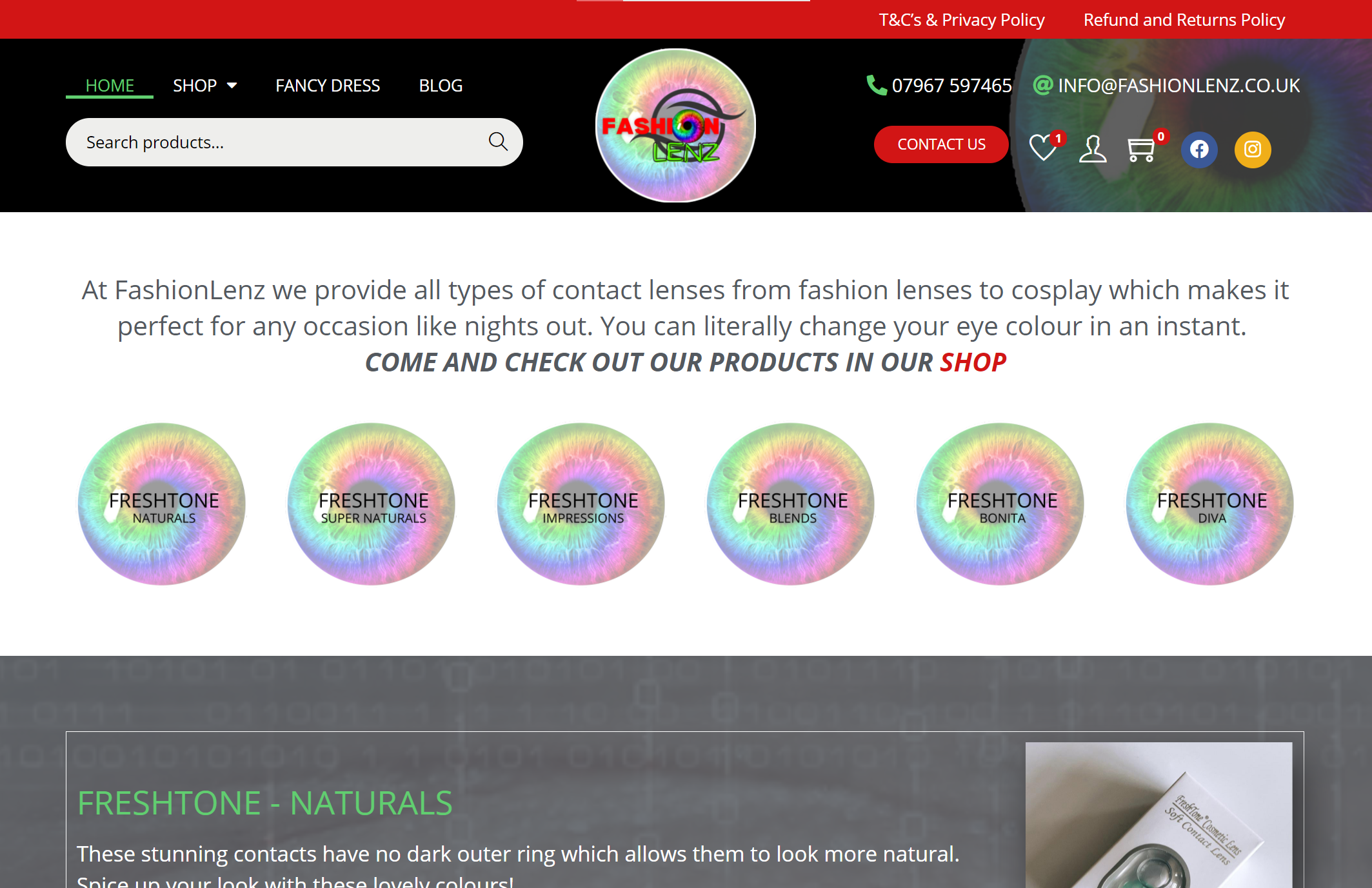 Read more about the article New Website Launch – FashionLenz