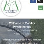 """Website & Logo Refresh """"Mobility Physiotherapy"""""""